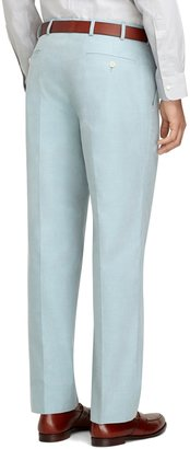 Brooks Brothers Fitzgerald Fit Plain-Front Cotton Dress Chinos