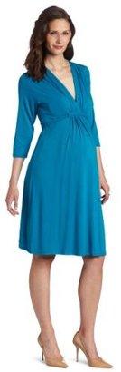 Olian Women's Maternity 8150 3/4 Sleeve Lycra Dress