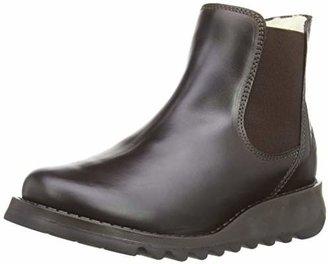 Fly London Salv Warm Rug, Women's Chelsea Boots, Brown (Dark Brown)