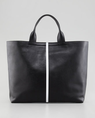 Reed Krakoff Track Leather Tote Bag, Black