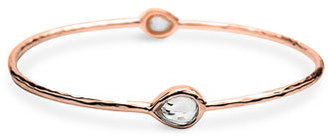 Ippolita 'Rock Candy' Rosé Mini 2-Stone Bangle
