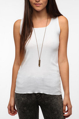 Urban Outfitters BDG Lace Trim Drop Needle Tank Top