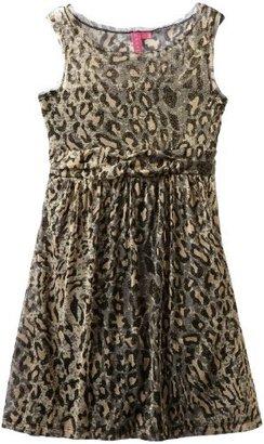 Hype Girls 7-16 Leopard Mesh Dress