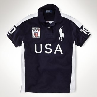 Polo Ralph Lauren Big & Tall Classic-Fit Winter Racing Polo