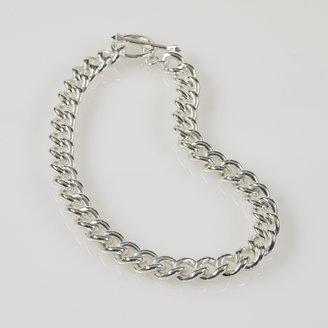 Ralph Lauren Silver Chain Choker Necklace