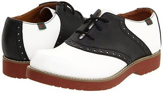 School Issue Varsity (Toddler/Little Kid/Big Kid) (White/Black) Girls Shoes