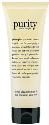 Philosophy 'Purity Made Simple' Facial Cleansing Gel & Eye Makeup Remover $23 thestylecure.com