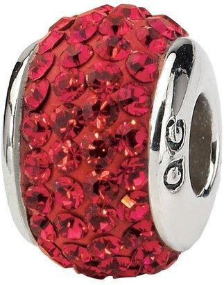 Swarovski Prerogatives Sterling Red Full Crystal Bead