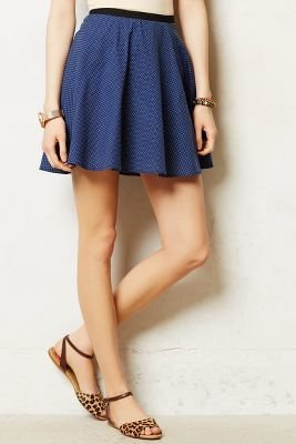 Corey Lynn Calter Dotted Swing Skirt