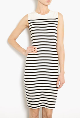 Malene Birger Amusa Jersey Striped Sleeveless Dress