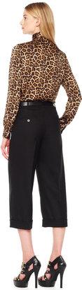 Michael Kors Cropped Cuffed Pants