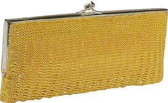 Moyna Handbags Crochet and Beaded Clutch