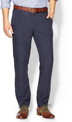 Vince SHADES of GREY by Micah Cohen BLUE LINEN SUIT PANT - Slim Pants