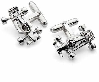 Aspinal of London Sterling Silver Racing Car Cufflinks