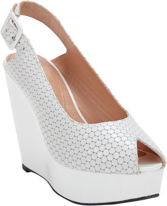 Robert Clergerie Bustyma Platform Wedge Sandals
