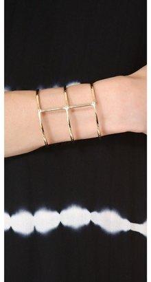 Elizabeth and James Berlin Multiband Cuff Bracelet