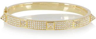 Anita Ko Spike 18-karat gold diamond bracelet