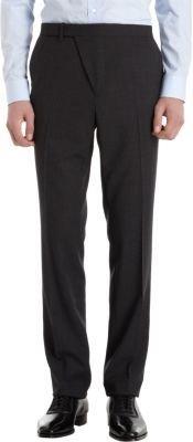 Raf Simons Diagonal Fly Placket Dress Trousers