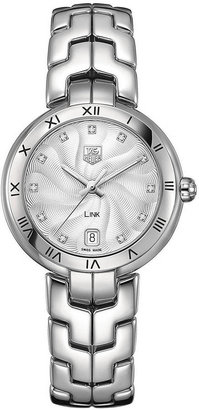 Tag Heuer Ladies' Link Stainless Steel Silver Dial Watch