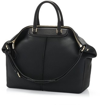 Tod's Miky Large Leather Bowler Bag