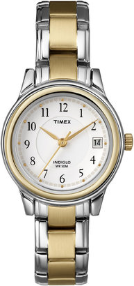 Timex Easy Reader Womens Two-Tone Watch $70 thestylecure.com