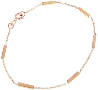 Jennifer Meyer Bar Bracelet - Rose Gold