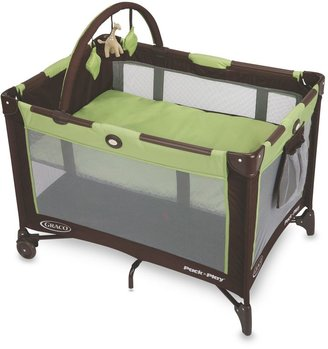 Graco On-the-Go Travel Pack 'n Play® Playard in Go Green