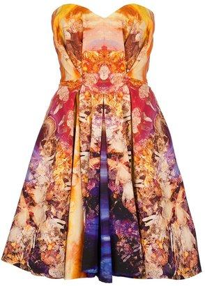 McQ by Alexander McQueen strapless bustier dress