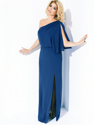 Holly Willoughby One Shoulder Maxi Dress