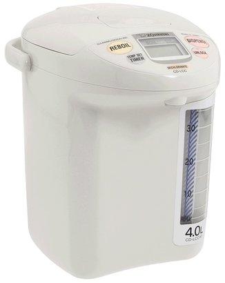 Zojirushi CD-LCC40WG Panorama Window Micom Electric 4 Liter Dispensing Pot (White) - Home