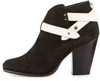 Rag and Bone Rag & Bone Harrow Nubuck Ankle Boot, Black