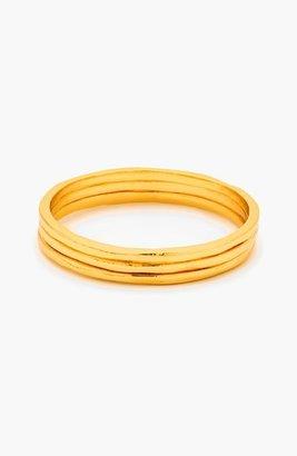 Women's Gorjana 'G Ring' Rings (Set Of 3) $45 thestylecure.com