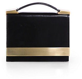Brian Atwood Ava Leather Convertible Clutch