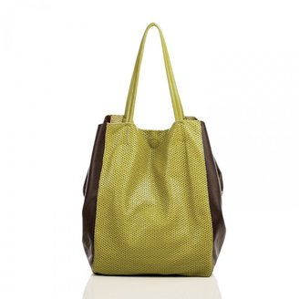 Linea Pelle Sybil Perforated Tote