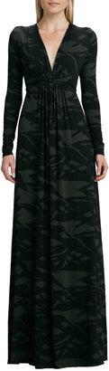 Rachel Pally Pine Reflection Long Caftan Dress