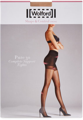 Wolford Pure Fairly Light 30 Denier Support Tights