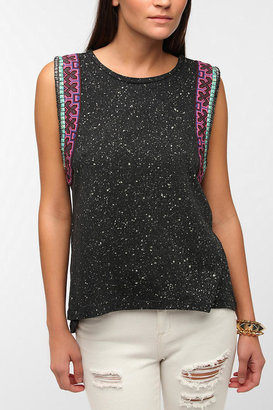 Urban Outfitters Ecote Silver Moon Muscle Tee