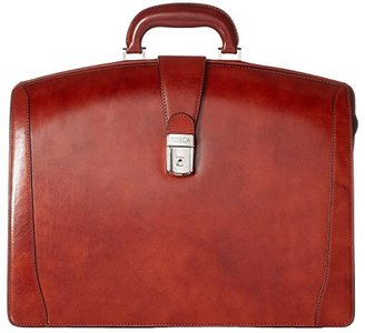 Bosca Old Leather Collection - Partners Brief (Cognac Leather) Briefcase Bags