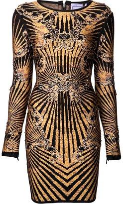Herve Leger print dress