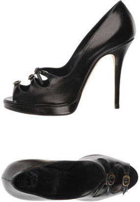 Zoraide Pumps with open toe