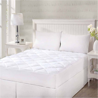 QUEEN STREET Queen Street Cotton Top With Stretch Skirt Quilted Mattress Pad