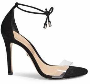 Schutz Josseana Ankle-Wrap Stiletto Sandals