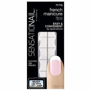 French Manicure Sensationail Tip Refill, White