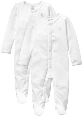 Gap Favorite footed one-piece (2-pack)
