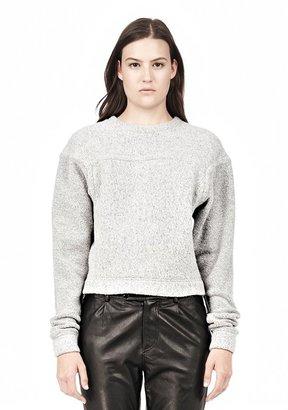 Alexander Wang Brushed Wool Sweatshirt Top