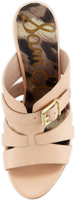 Sam Edelman Chase Cork Slip-On Wedge, Natural