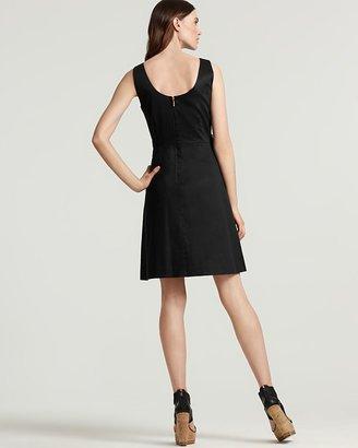 """Kate Spade Jillian"""" Bow Front Stretch Cotton Dress"""