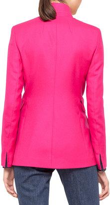 Akris Lancy Long Cashmere Jacket