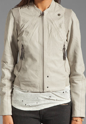 G Star G-Star Olympia Leather Moto Jacket