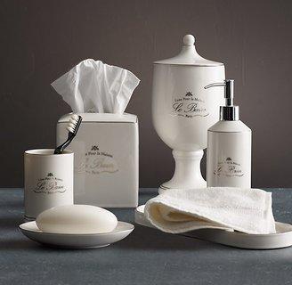 Restoration Hardware Le Bain French Porcelain Accessories - White